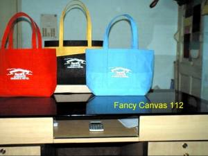 Laminated Fancy Canvas Bags